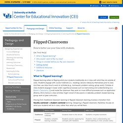 Flipped Classrooms - Center for Educational Innovation - University at Buffalo