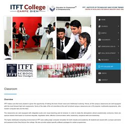 Classrooms — ITFT College