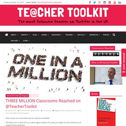 THREE MILLION Classrooms Reached on