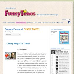Classy Ways To Travel - The Funny Times