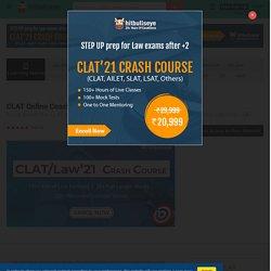CLAT Coaching - CLAT Online Coaching - CLAT Online Classes