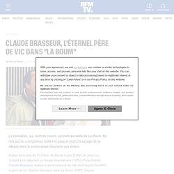"""Claude Brasseur, l'éternel père de Vic dans """"La Boum""""..."""