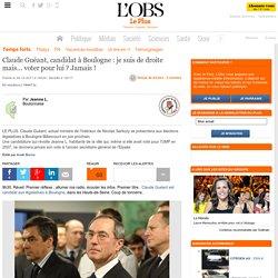 Claude Guéant, candidat à Boulogne : je suis de droite mais... voter pour lui ? Jamais !