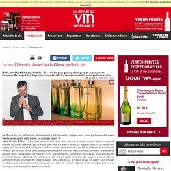 Jean-Claude Ellena, le nez d'Hermès parle du vin