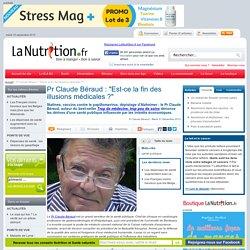 """Point de vue - Pr Claude Béraud : """"Est-ce la fin des illusions médicales ?"""