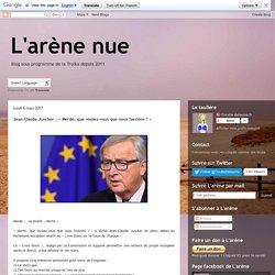 Jean-Claude Juncker : « Merde, que voulez-vous que nous fassions ? »