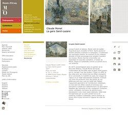 Claude Monet La gare Saint-Lazare