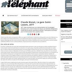 Claude Monet, La gare Saint-Lazare, 1877