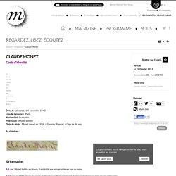 Découvre Claude Monet