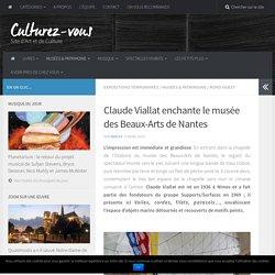 Claude Viallat enchante le musée des Beaux-Arts de Nantes