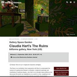 Claudia Hart's The Ruins – In Kepler's Gardens
