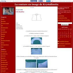 Col claudine - La couture en image de Krystalinette