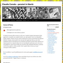 Claudio Cereda – pensieri in libertà