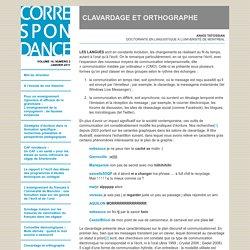 Clavardage et orthographe