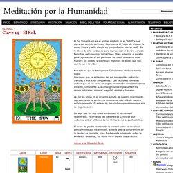 Clave 19 - El Sol. - Meditación por la Humanidad