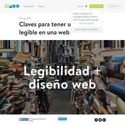 Claves para tener un texto legible en una web - Jimdo