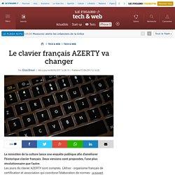 Le clavier français AZERTY va changer