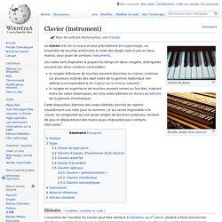 Clavier (instrument)