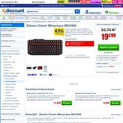Zalman Clavier Mécanique ZM-K500 - Achat / Vente CLAVIER Zalman ZM-K500 - Cdiscount Soldes* dès le 25 juin