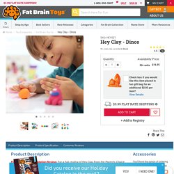 Hey Clay - Dinos - Best Arts & Crafts for Ages 5 to 8 - Fat Brain Toys