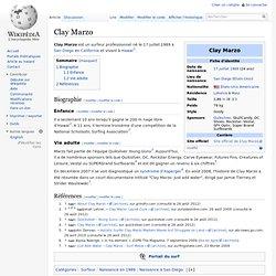Clay Marzo (Surfeur)