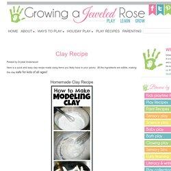 Clay Recipe