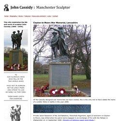 Clayton-le-Moors War Memorial - John Cassidy, Sculptor