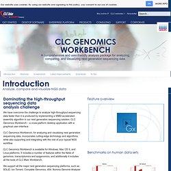 CLC Genomics Workbench - CLC bio