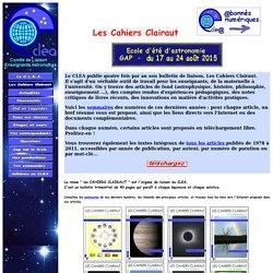 CLEA : Les Cahiers Clairaut