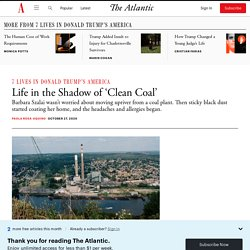 How 'Clean Coal' Affected a Pennsylvania Town
