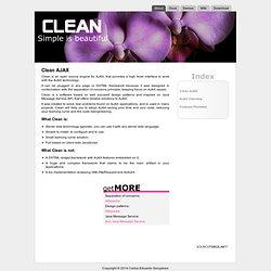 Clean AJAX