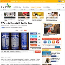 7 Ways to Clean With Castile Soap (Page 2)