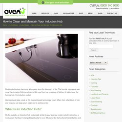How to Clean and Maintain Your Induction Hob