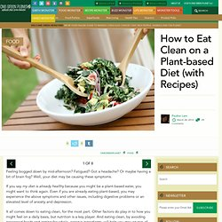 How to Eat Clean on a Plant-based Diet (with Recipes)