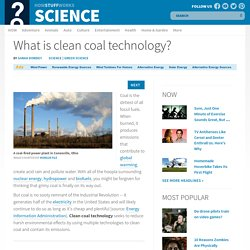 What is clean coal technology?