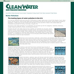 Clean Water : Water Pollution