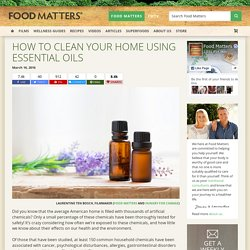 How To Clean Your Home Using Essential Oils