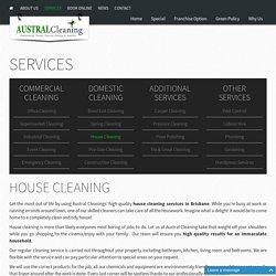 Superb House Cleaners Brisbane