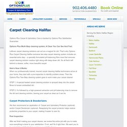 Carpet Cleaners, Carpet Cleaning Halifax