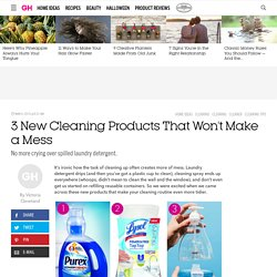 New Cleaners Don't Make a Mess - Smart Cleaning Packaging