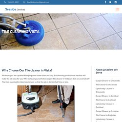 Get Affordable Tile Cleaning Services in Vista