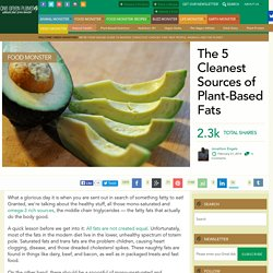 The 5 Cleanest Sources of Plant-Based Fats