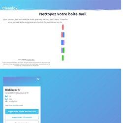 Nettoyer votre boite mail, protégez la planète!