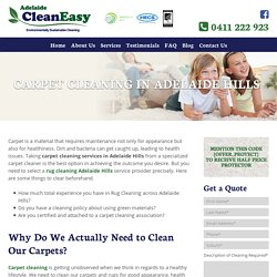 Carpet Cleaning Adelaide Hills