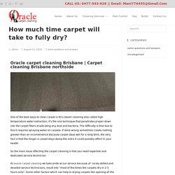carpet cleaning Brisbane northside