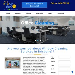 Window Cleaning Services Brisbane