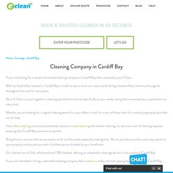 Cleaning Company in Cardiff Bay