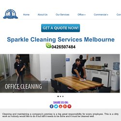 Office Cleaning Craigieburn service