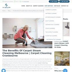 Carpet cleaning cranbourne