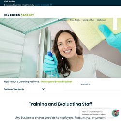 How to Train House Cleaning Employees